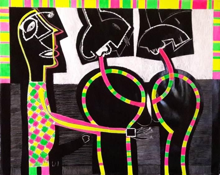 Balbino Giner Stgo 25 Sept 1998 130 x 160 cm