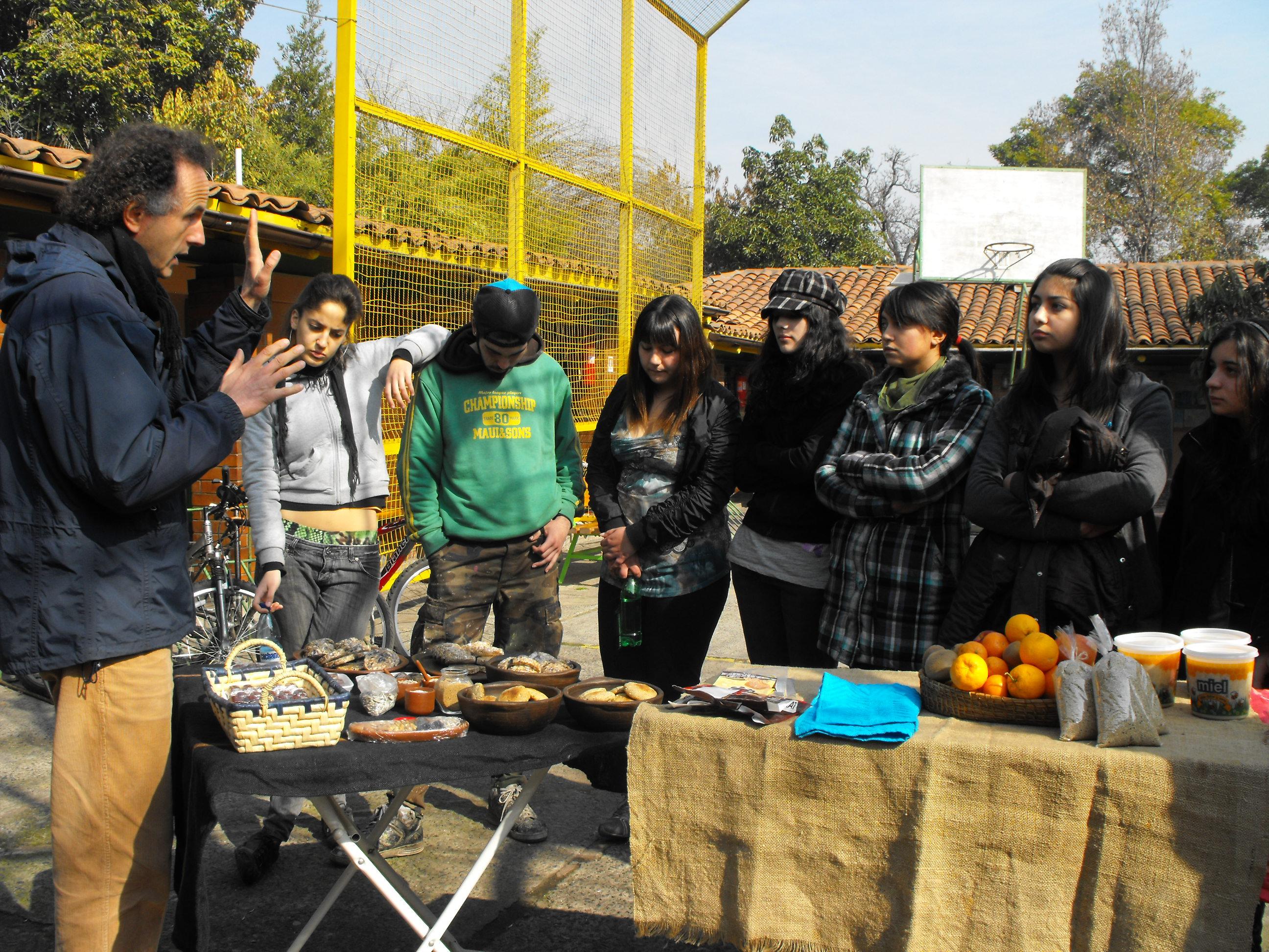 Kiosco Educativo Saludable Día de La Miel 2009 Rubén Darío b
