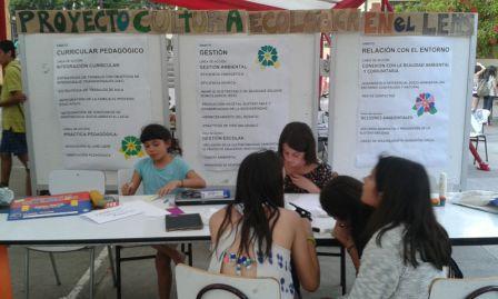 Estand con proyecto de Cultura Ecológica en LEMS 2015 Nov 14