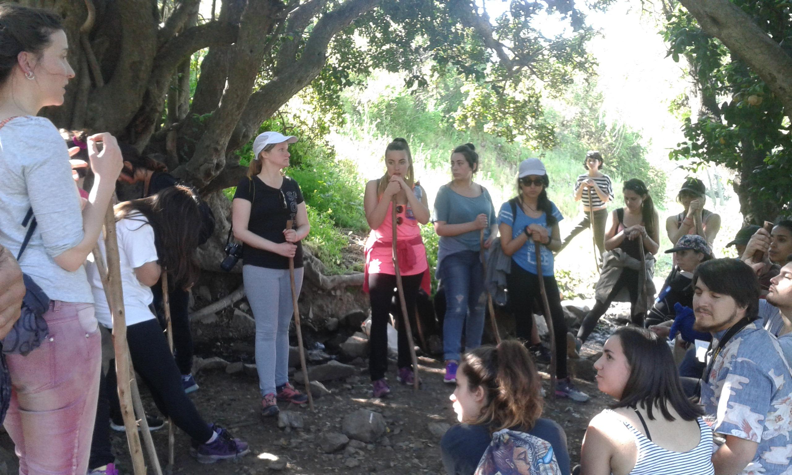 Conectarse con la naturaleza a través de Lugares Sagrados que permanecen, observan y protegen nuestro Valle del Cachapoal.